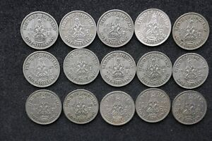 Scottish-Shillings-1937-to-1951-all-Selected-Circulated-choose-your-date