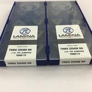 10Pcs//Box Lamina CNMG120408NN LT10 CNMG432 CNC Tungsten steel Carbide inserts
