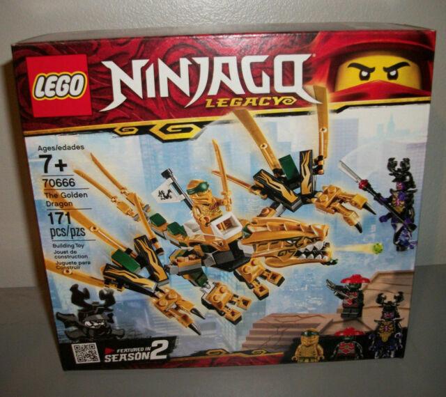 Lego Ninjago Legacy Golden Dragon 70666 Lloyd Gift Toy 2019 For Sale Online Ebay