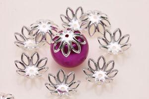 LOTS-300PC-Flower-Shape-Loose-Bead-Caps-Jewelry-Findings-Handmade-Crafts-DIY-HOT