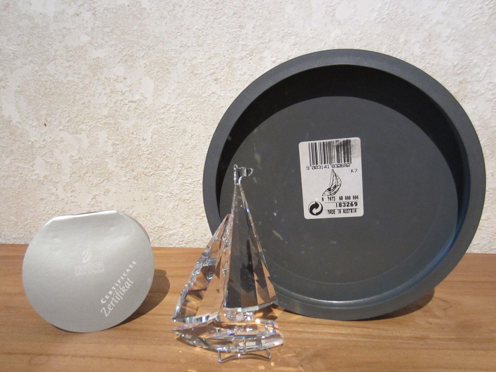 SWAROVSKI NEW Voilier Sailboat 183269 H.9,4cm