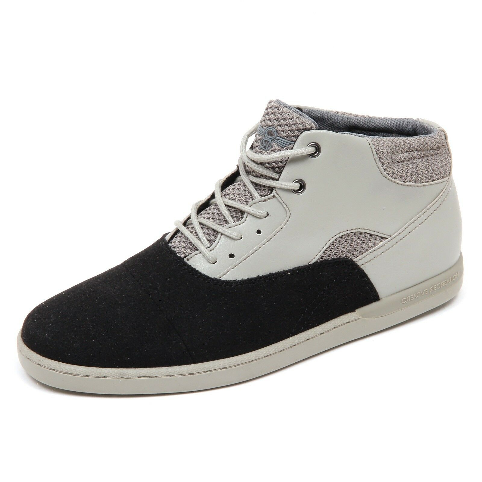 D4692 (without box) sneaker uomo black/grey CREATIVE RECREATION shoe man