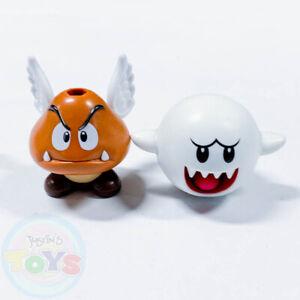 Knex Super Mario Figures Boo Paragoomba k'nex Ghost Goomba Wings minifigure mini