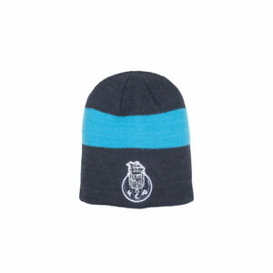 FC Porto Knitted Beanie Fi Collection Officially Licensed Embroidered Crest