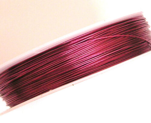 Copper Wires Tiara Wrapping Beading Craft Wires Sizes /& Colours