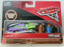 Disney Pixar Cars 3 Demo Derby Liability 77 w//Flaming Barrels Diecast New