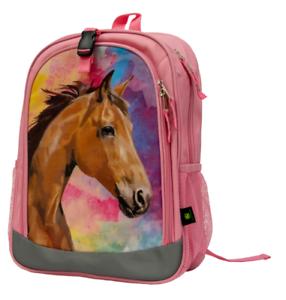 John Deere Girl Child Backpack Horse #LP70698