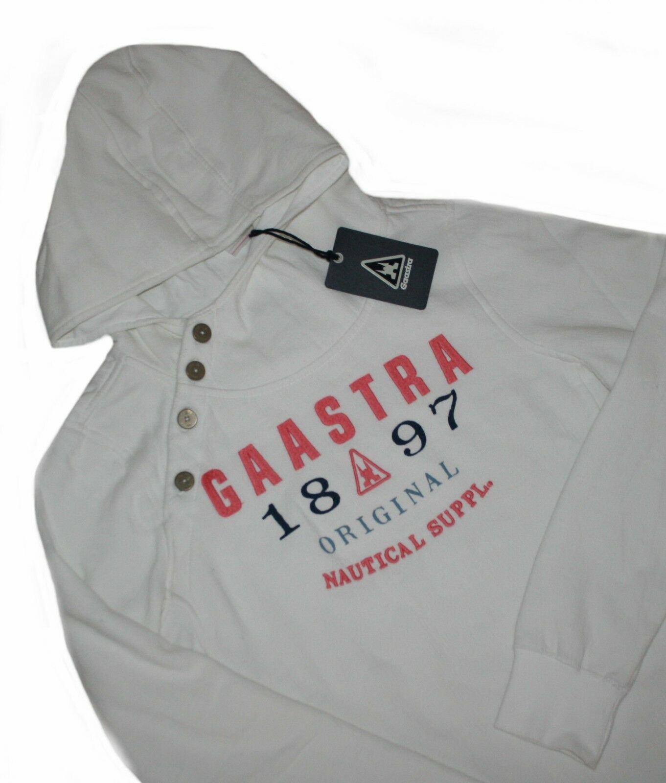 Gaastra Osmooth Wn women whiteo con Capucha Jersey T.L