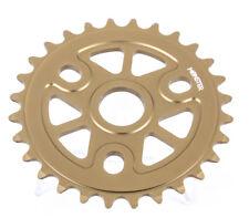 eXotic BMX 24T Sprocket CNC Machined 6061 Al One or Three Piece Crank Bolt Drive