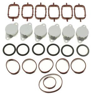 32-33mm-Bouchon-Clapet-Volet-Admission-Collecteur-Joint-pour-BMW-E38-E39-E46-E53