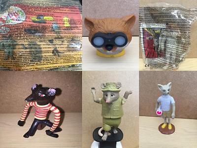 Uk Mcdonalds Fantastic Mr Fox Toy Various New Loose Various Ebay