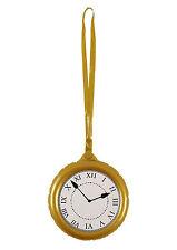 Inflatable Jumbo Clock Rapper Flav Pocket Watch Fancy Dress Accessory