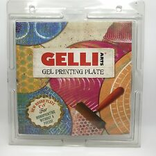"Gelli Arts Gel Printing Plate 8"" Round, For Monoprinting (RF622)"