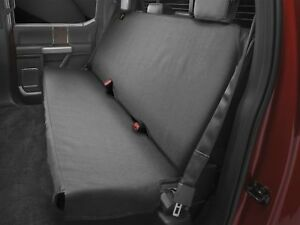 Strange Details About Weathertech Small Highback Bench Seat Protector In Black For Trucks Cars Suvs Ibusinesslaw Wood Chair Design Ideas Ibusinesslaworg