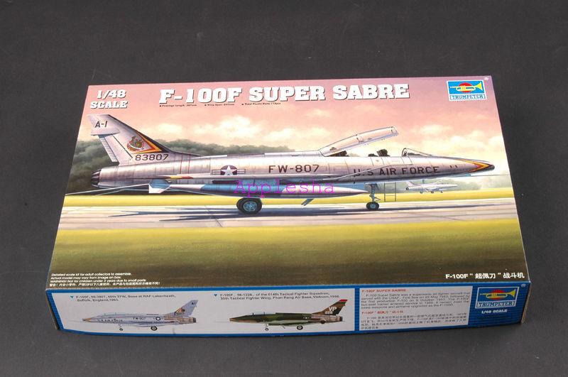 Trumpeter 02840 1 48 F-100F Super Sabre