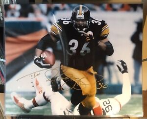 ee79bdab5 Image is loading Jerome-Bettis-36-Signed-Autographed-16x20-NFL-Photo-