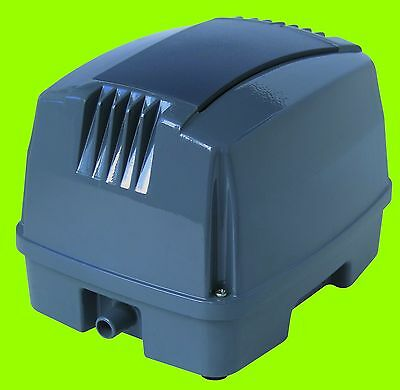 Hailea HAP 80 Membrankompressor Eisfreihalter für den Gartenteich Koi Belüfter
