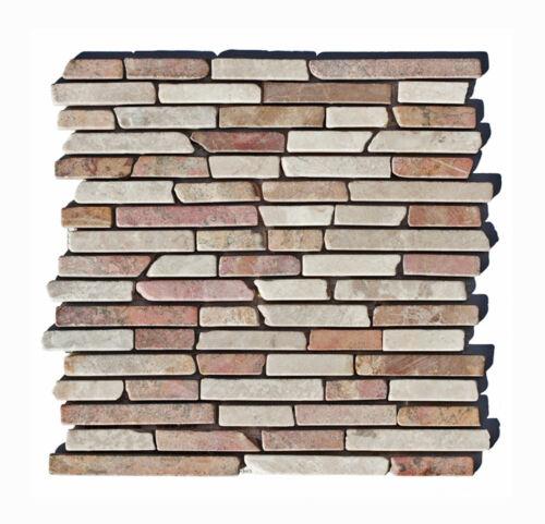 Fliesen Lager Stein-mosaik Herne NRW ST-434 1 Matte Mosaikfliesen
