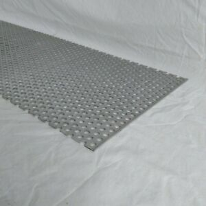 """Perforated Metal Aluminum Sheet 1//8/"""" Thick  36/"""" x 36/"""" 1//2/"""" hole 11////16/"""" stagger"""
