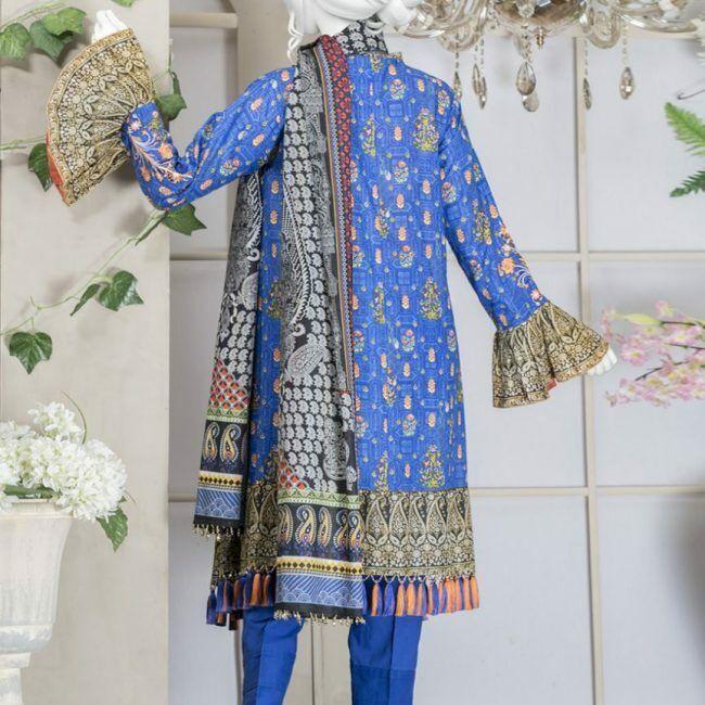 Junaid Jamshed 100% ORIGINAL 3pc Lawn Suit Material Lawn Dupatta J. Lawn Khaadi