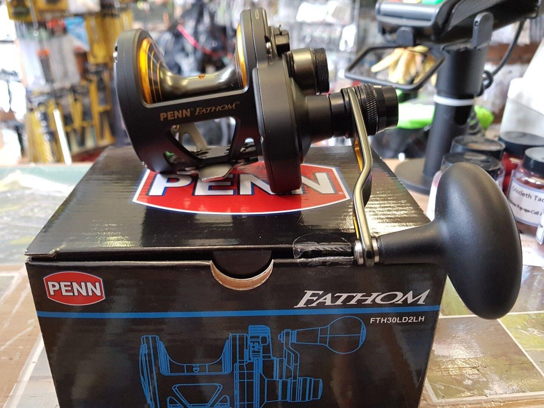 Penn Fathom 30LD 2 speed LEFT HAND   low prices