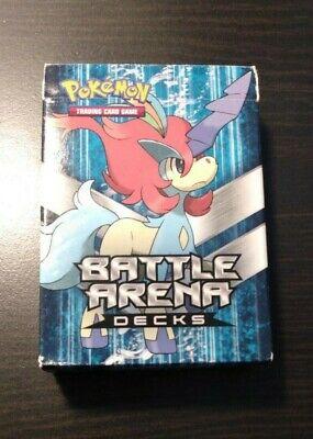 Keldeo vs Rayquaza Battle Arena - Keldeo deck box only ...