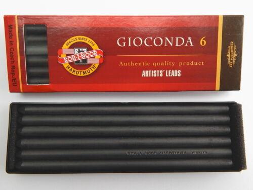 KOH-I-NOOR GIOCONDA CLUTCH PENCIL GRAPHITE LEAD 5,6 x 120 MM REFILL MECHANICAL