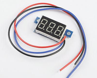 DC 0-200V Red LED Panel Meter Digital Voltmeter