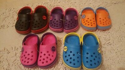 Children's Niños Chicos Chicas Deportivo Surf Playa Mula Zuecos Zapatos