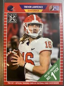 *In Hand* 2021 LEAF PRO SET TREVOR LAWRENCE ROOKIE CARD XRC RC