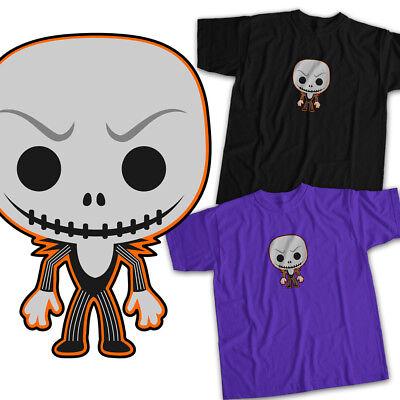 Nightmare Before Christmas Jack Pumpkin King Mens Womens Kids Unisex Tee T-Shirt