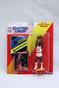 VINTAGE SEALED 1992 Starting Lineup SLU Hakeem Olajuwon Action Figure Rockets