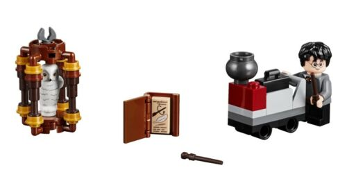 LEGO Harry Potter Set 30407 Harry/'s Journey to Hogwarts Castle with Hedwig Owl