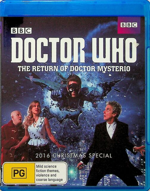 Doctor Who -The Return Of Mysterio Blu Ray (2016 Christmas Special) Matt Lucas