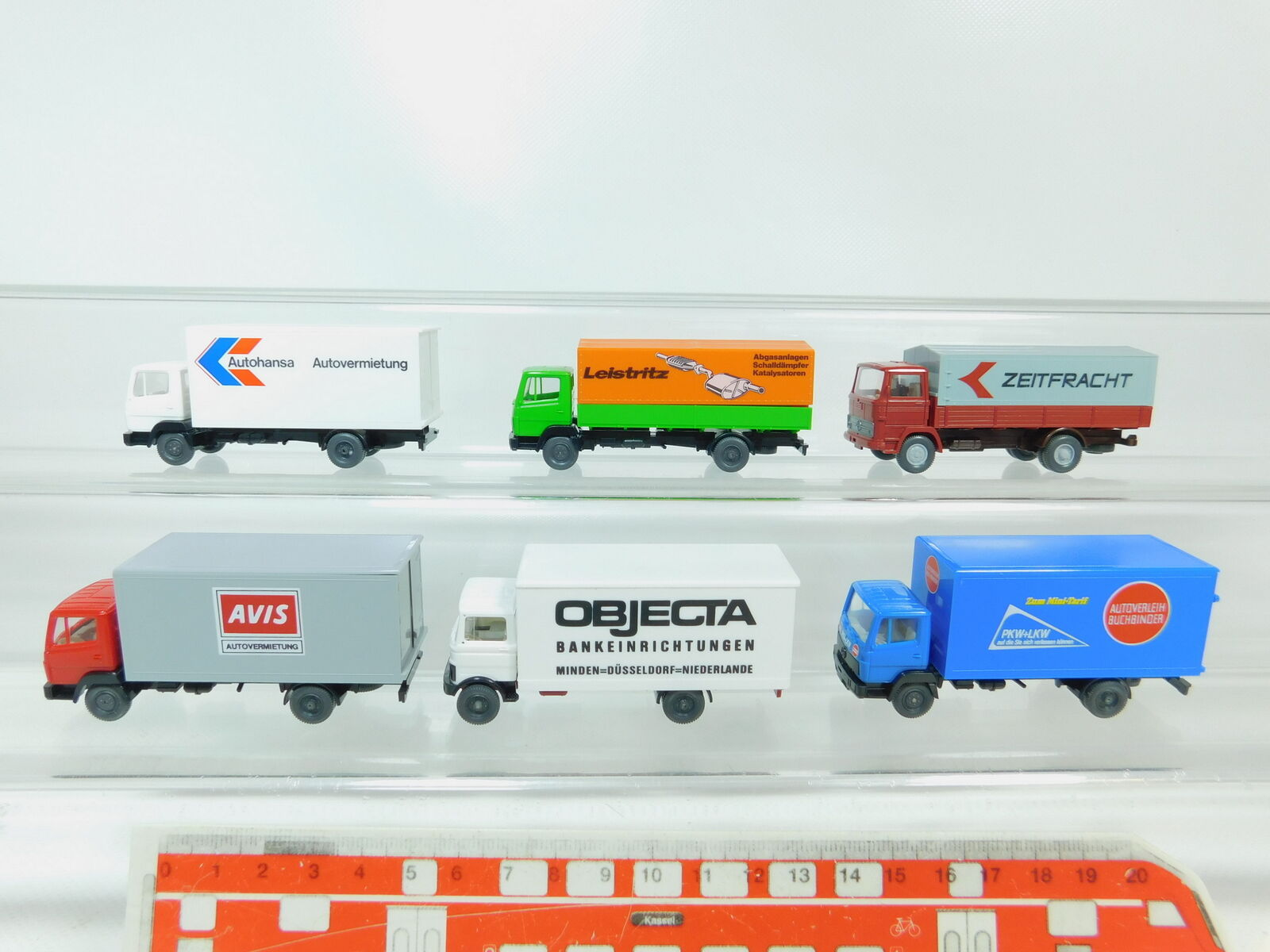 BN66-0,5 BN66-0,5 BN66-0,5 x Wiking H0   1 87 Car MB   Avis +Leistritz +Objecta +Book Binder c92560