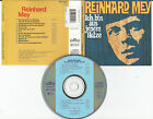 """REINHARD MEY """"Ich bin aus jenem Holze"""" CD 1987 Intercord ERSTAUFLAGE"""