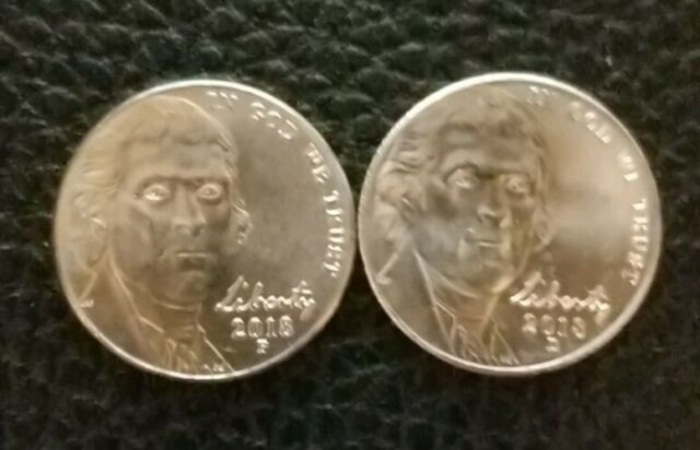 2018 P Jefferson 5 cent Uncirculated
