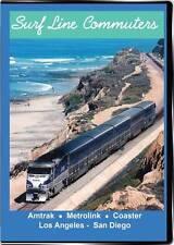 Surf Line Commuters Amtrak Metrolink Coaster on DVD