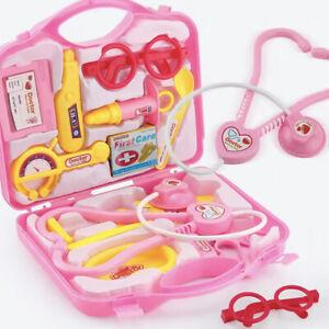 Enfants Jeu De Rôle Docteur infirmier Learning Toys Set Kit Médical cadeau de Noël UK