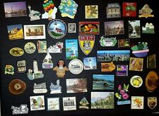 Large Lot Of Mostly Travel Related Fridge Magnets 120+  **Many Vintage Pieces**