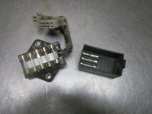 honda gl1000 1976 goldwing main fusebox fuse panel block. Black Bedroom Furniture Sets. Home Design Ideas