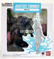 """In STOCK Bandai """"Tamashii Effect Blue Thunder"""" for S.H. Figuarts Action Figures"""