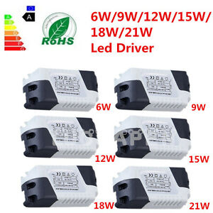 New-Dimmable-LED-Light-Lamp-Driver-Transformer-Power-Supply-6-9-12-15-18-21W-QQ
