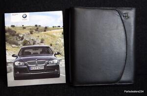 BMW-3-SERIES-E90-E91-SALOON-TOURING-HANDBOOK-MANUAL-WALLET-2005-2008-PACK-L-5