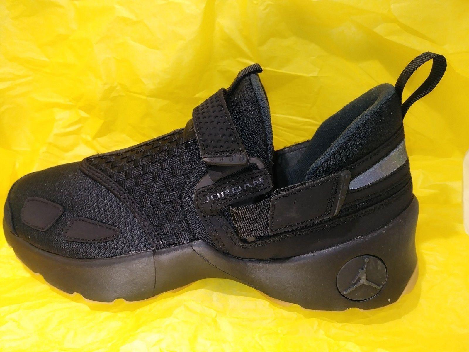 Nike JORDAN TRUNNER LX Black Anthracite Gum Yellow 897992-021 RETAIL  120 SZ 9.5