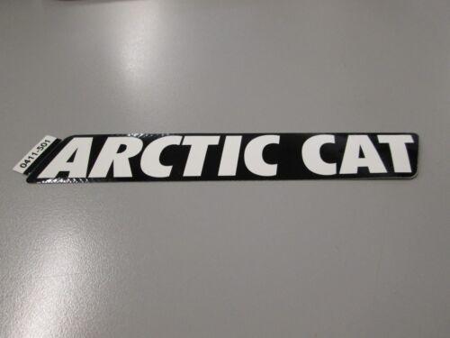 Arctic Cat ATV Black /& White Decal Sticker 0411-501