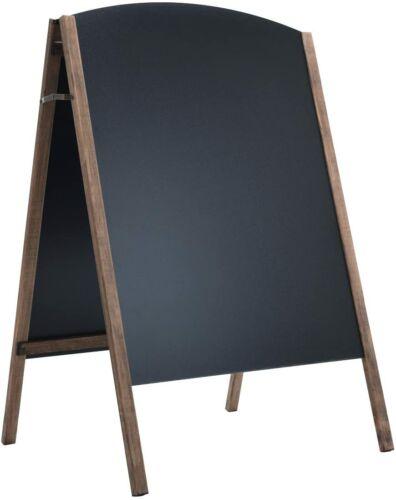 Kreidetafel Klappbar,Kundenstopper Holz,Werbeaufsteller Kindertafel Standtafel