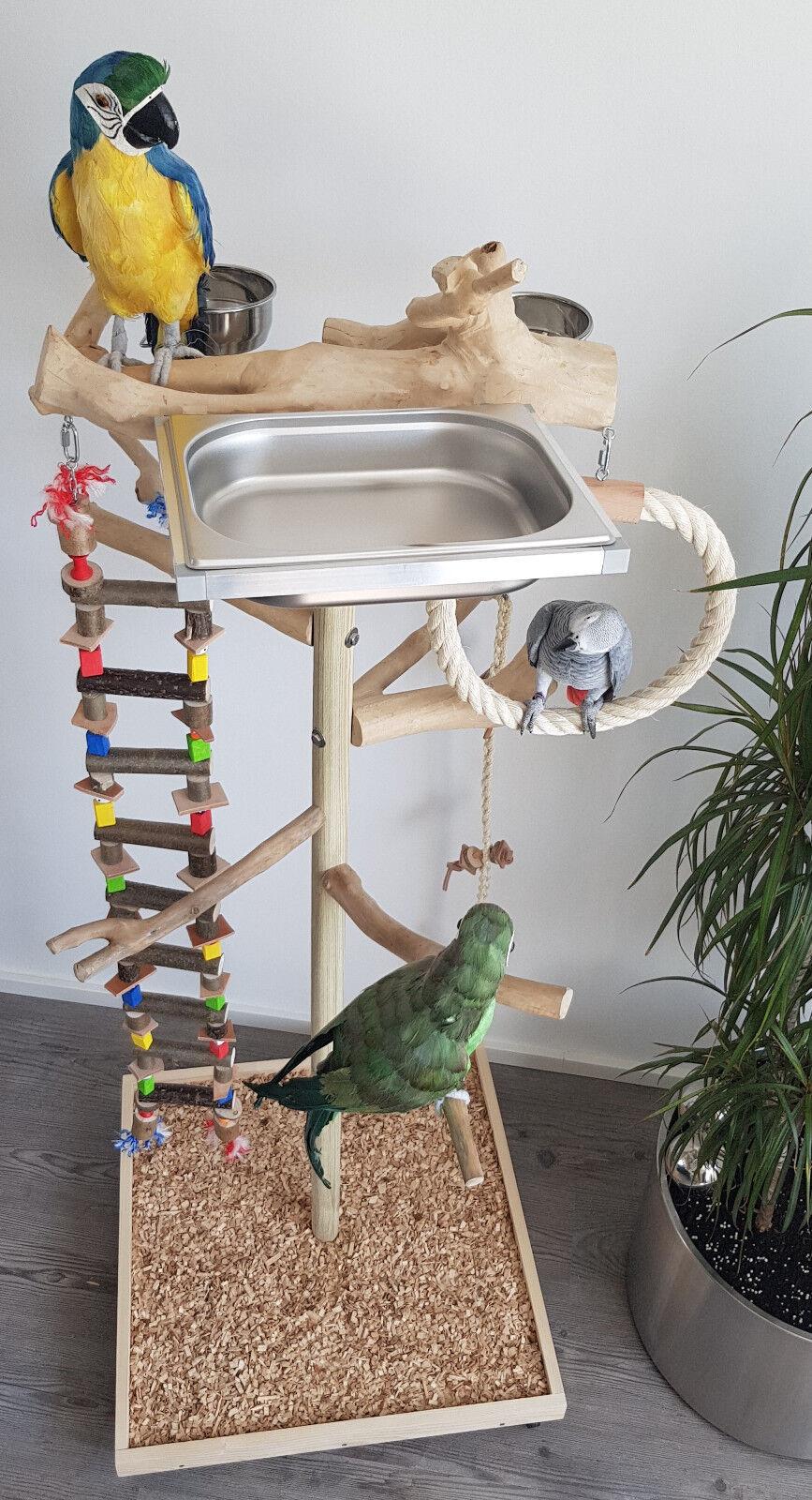 SEDILE libero da Java radice legno pappagalli liberamente sede M. ponte sospeso & vasca da bagno 1,40
