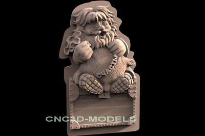 3D Model STL for CNC Router Engraver Carving Artcam Aspire Collection c123