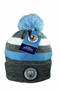 Image is loading Manchester-City-Beanie-Cap-Hat-Winter-Official-Authentic- f3f2ac057b4